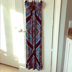 EUC maxi dress in size 8